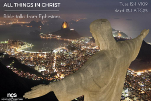 All things in ChristBible talks from Ephesians