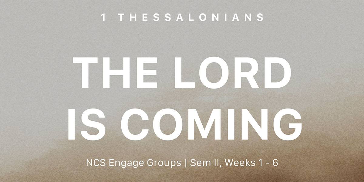 Engage Groups 1 Thessalonians