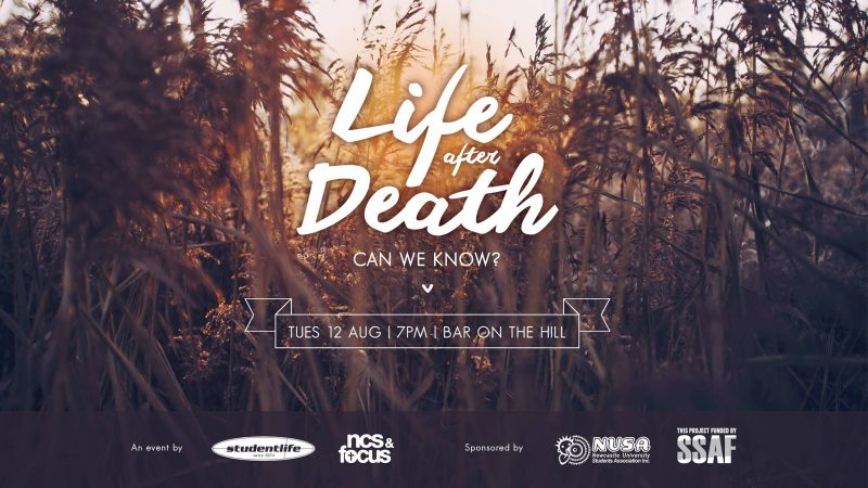 Life After Death: Question TIme